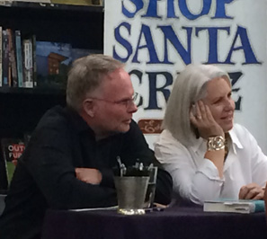 Brooke and Terry at Bookshop Santa Cruz